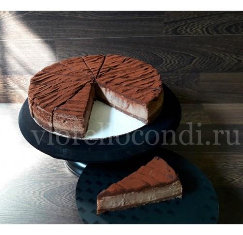 чизкейк Нью-Йорк шоколадный  порционный, испеченный. замороженный